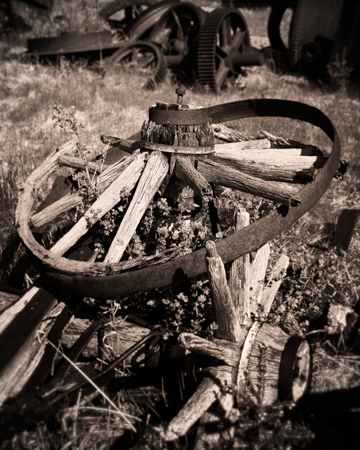 Boneyard of Wheels, Nordegg