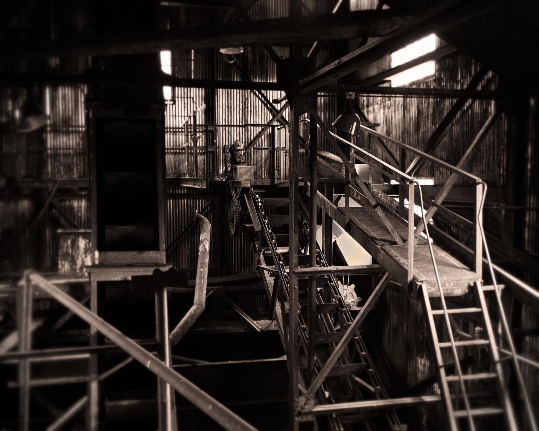 Light On the Old Steel Machine, Nordegg